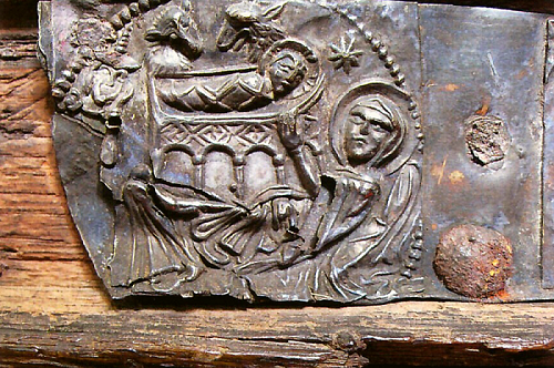 Detail des Tragaltars