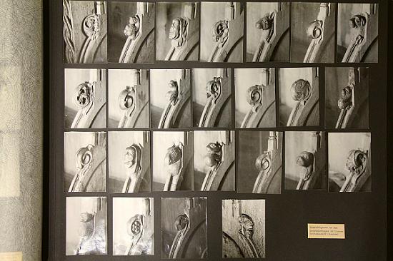 Fotoalbum von Joachim Thörmer mit Detailaufnahmen des Chorgestühls